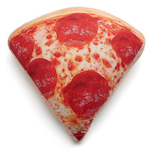 Iscream Pizza Slice Microbead Pillow Pizza Slice Pizza Emoji Love