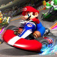 Play Super Mario Racing Best Free Online Games On Ufreegames Com Mario Games Mario Super Mario