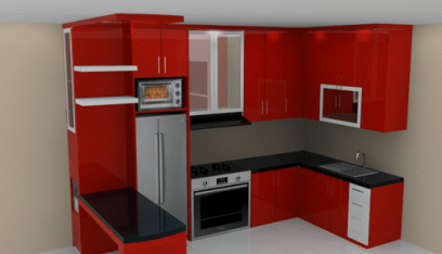 Keren Ini Dia 10 Model Kitchen Set Minimalis Paling Unik Di 2020 Dapur Kecil Dapur Minimalis