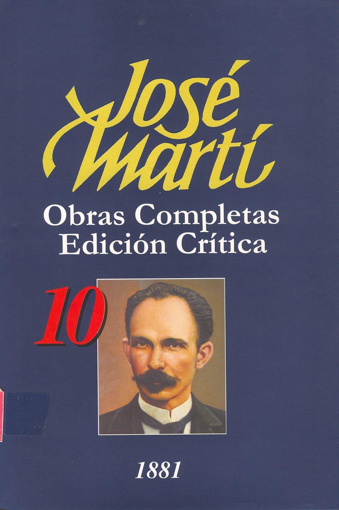 Obras completas / José Martí
