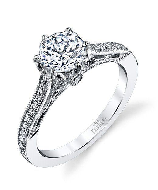 Hera Bridal R3557 Parade engagement ring, Wedding rings
