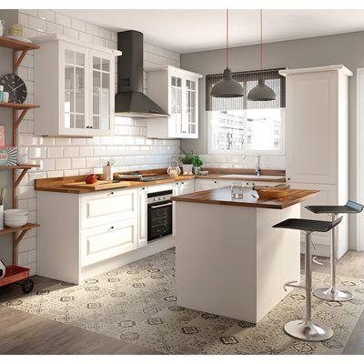Cozinha delinia gales branco leroy merlin home - Leroy merlin kitchenette ...