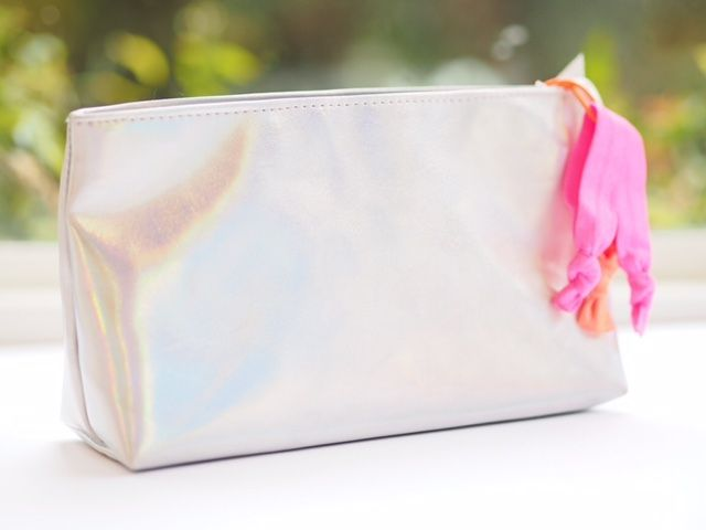 Rather boringly, M&S call this 'Make Up Bag - Multi' when, hello, it's all unicorn! This shifty, holographic look is totally a trend. I like M&S ma