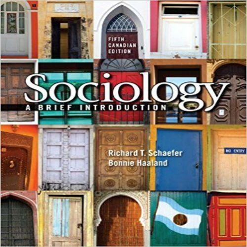 Test bank for sociology a brief introduction 5th canadian edition by test bank for sociology a brief introduction 5th canadian edition by schaefer and haaland fandeluxe Images