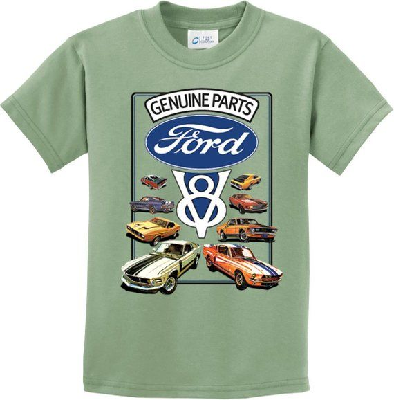 Mustang V8 Collection Genuine Ford Parts Kids Ford Tee T