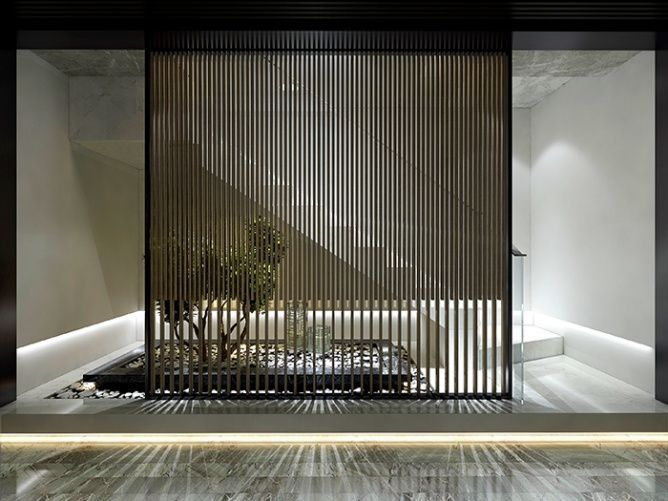 12 Modern Japanese Interior Style Ideas working place Pinterest