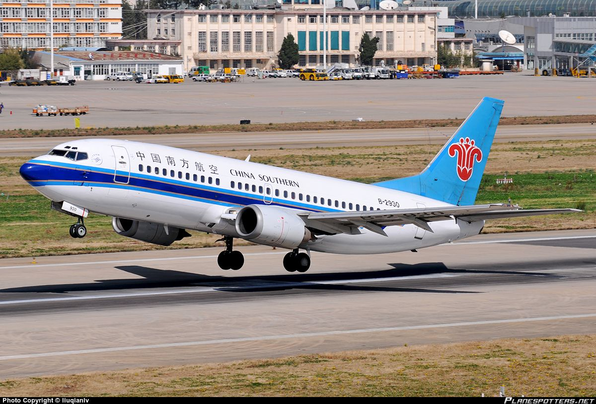 B2930 China Southern Airlines Boeing 73731L China