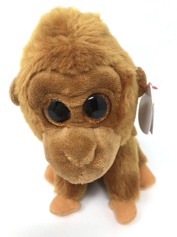 be7fc5458ef Ty Beanie Boos Monroe the Gorilla 6