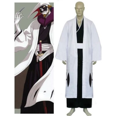 Bleach 12th Division Captain Kurotsuchi Mayuri Cosplay Costume For Sale