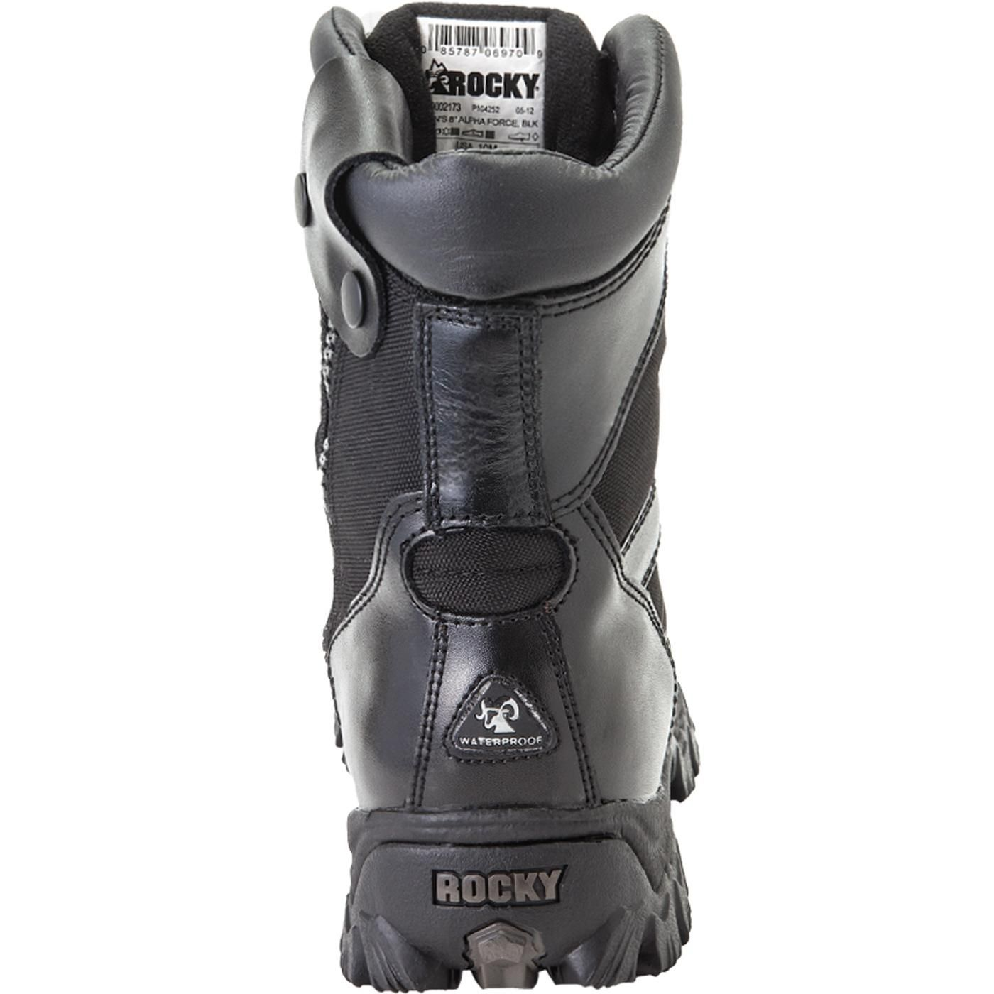 39739924ec2 Rocky Alpha Force Zipper Waterproof Duty Boot | Rocky Military ...