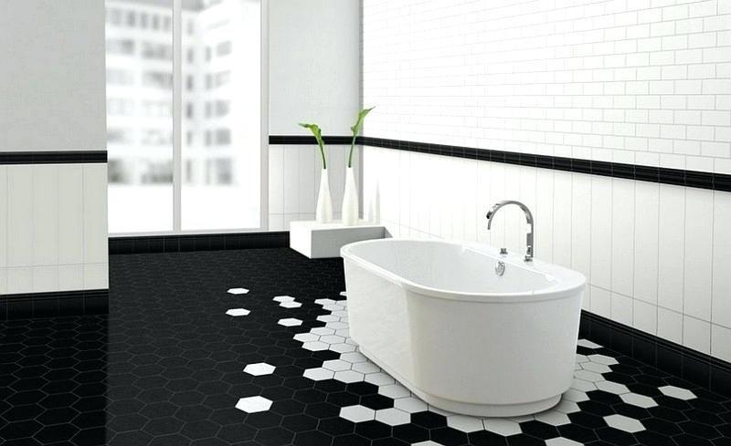 Salle De Bain Carrelage Metro Noir Et Blanc Recherche Google