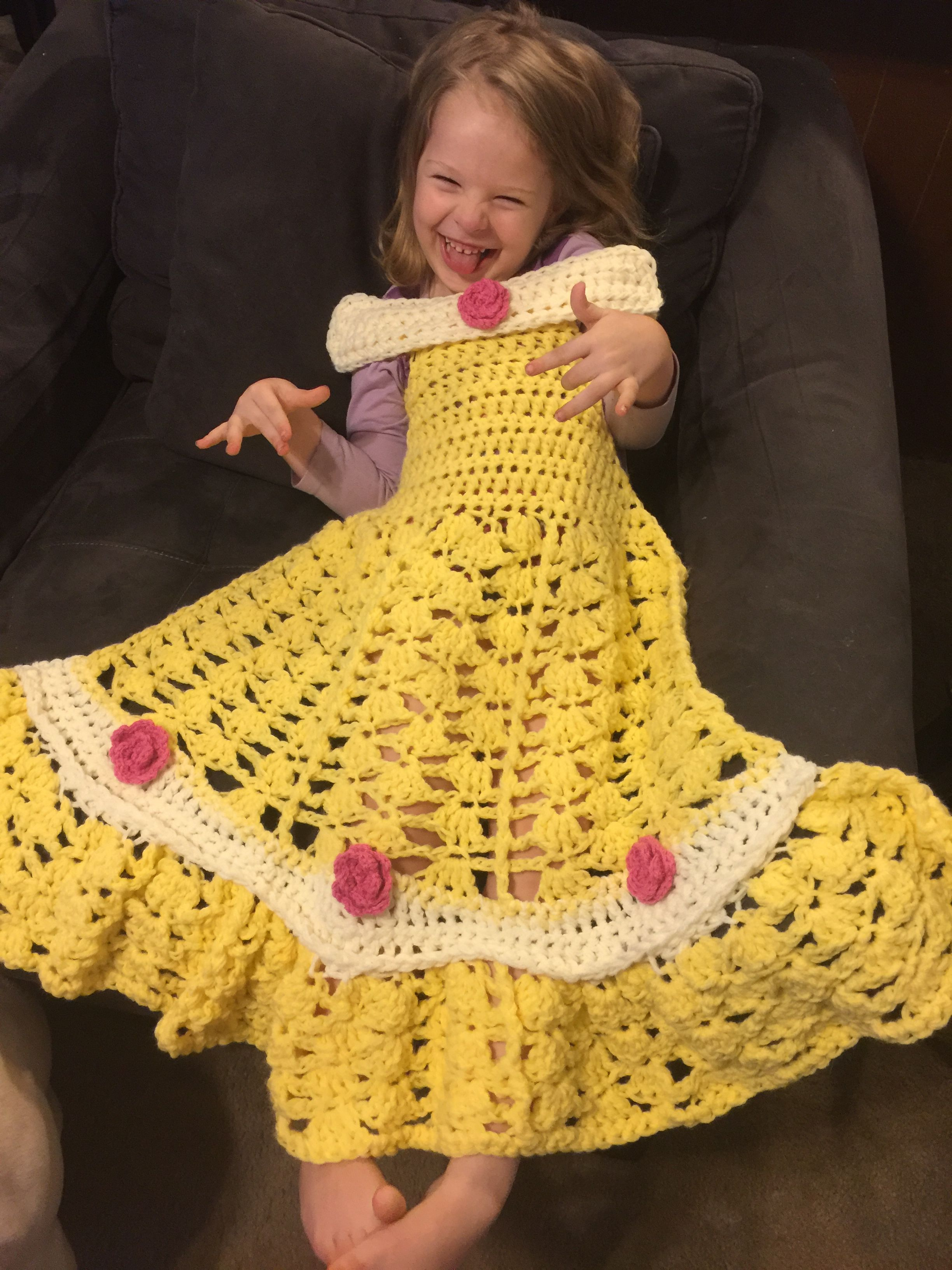 Princess belle dress blanket so cute and fun now for sale in my