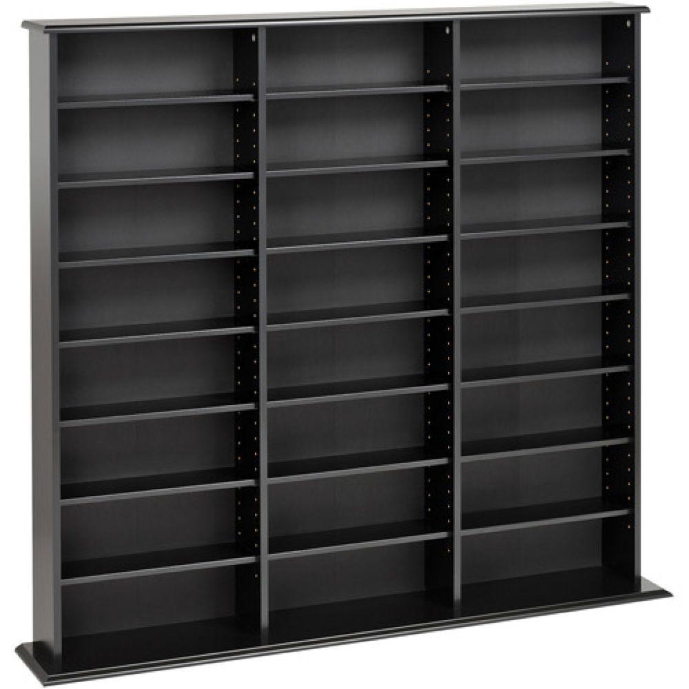 Dvd Storage Cabinet Home Bookshelf Multimedia Wall Unit Tower Shelf Furniture Prepac Furniture Wall Storage Cabinets Dvd Storage Cabinet Media Storage