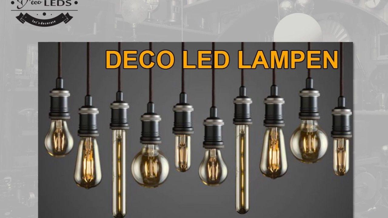 Vintage Led Filament Lampen Kopen Bij Www Decoleds Nl Led Lamp Led Lampen Kopen