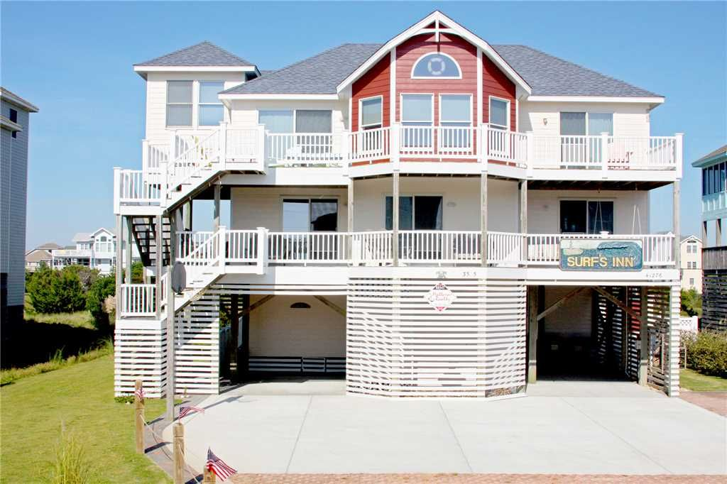 Surf Inn 6 Bedrooms 4 2 1 2 Baths Private Heated Pool Semi