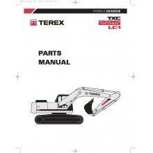 terex txc 225lc 1 hydraulic excavator parts manual pdf terex rh pinterest com terex al4000 parts manual terex parts manuals 72332792st