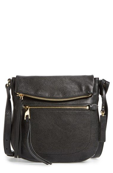 Free Shipping And Returns On Vince Camuto Tala Leather Crossbody Bag Nordstrom Exclusive At A Trove Of Handy Pockets The Outside