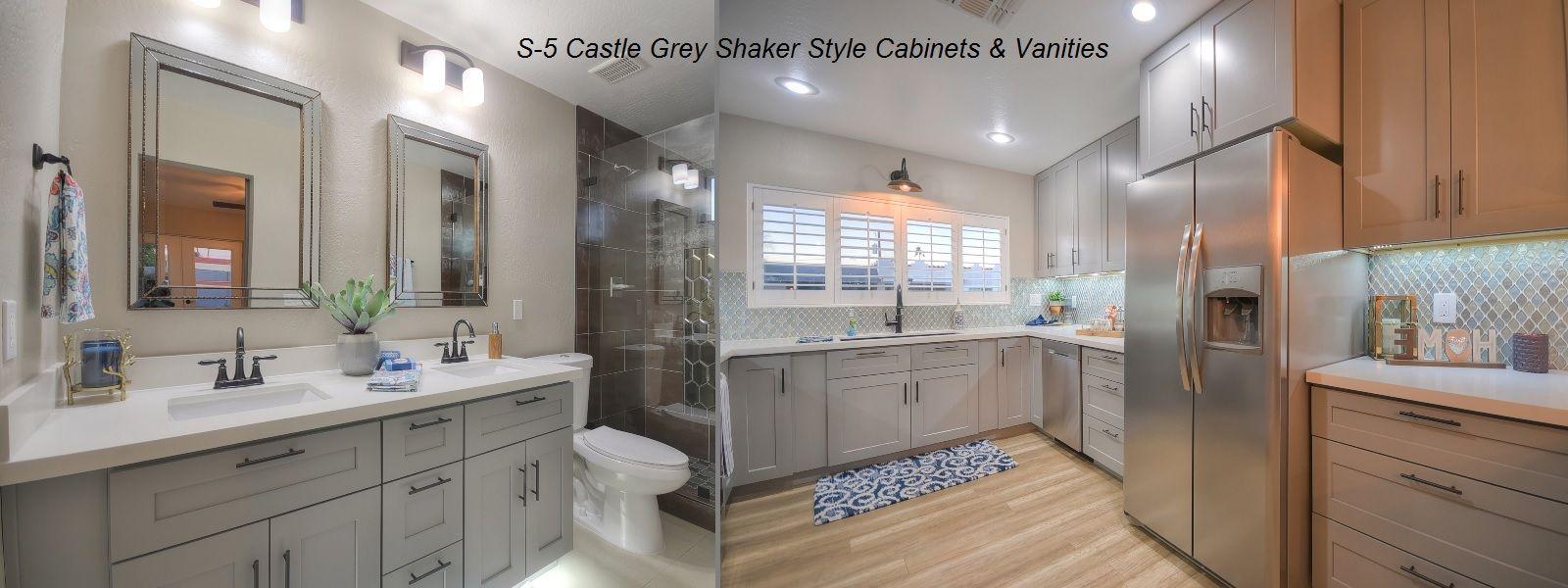J K Cabinetry Az Wholesale Grey Shaker Kitchen Cabinets Vanities Black Kitchen Faucets Pull Out Kitchen Faucet Delta Faucets