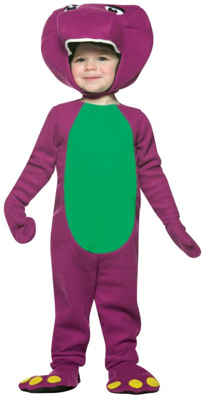 Barney And Friends Barney Toddler Costume 34 99 Barney Costume Diy Baby Costumes Toddler Costumes