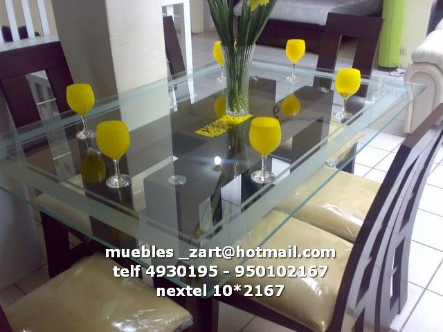 Muebles villa el salvador muebles de sala modernos - Muebles de comedor modernos ...