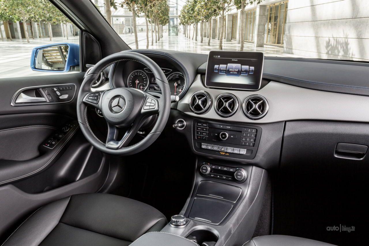 Mercedes Classe B 2015 Tutte Le Foto Del Facelift 1 46