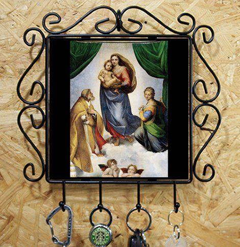 ラファエロ『 システィーナの聖母 』のカギ掛けフォトタイル(世界の名画シリーズ) 熱帯スタジオ http://www.amazon.co.jp/dp/B017IANAIS/ref=cm_sw_r_pi_dp_yF65wb05J6050