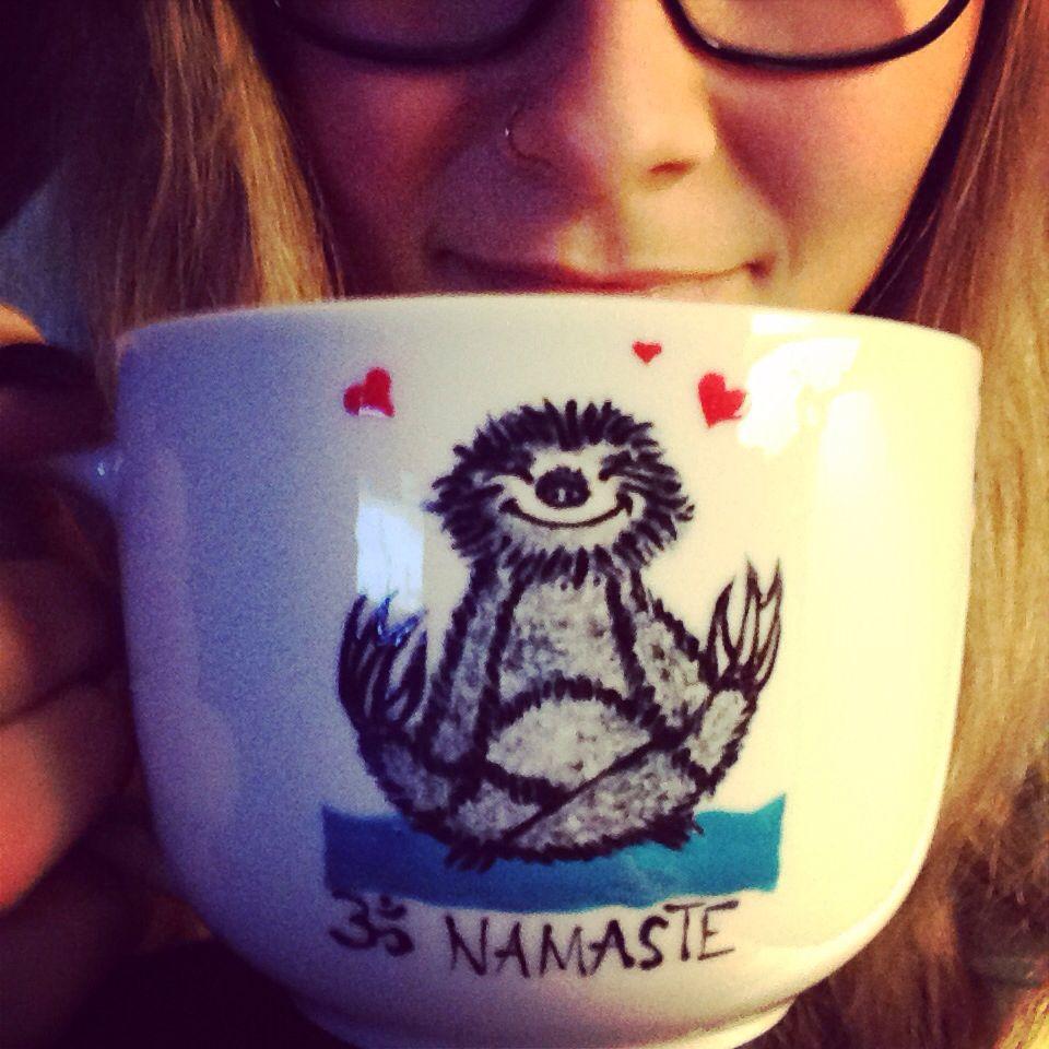 Namaste mug #corrinaparsons