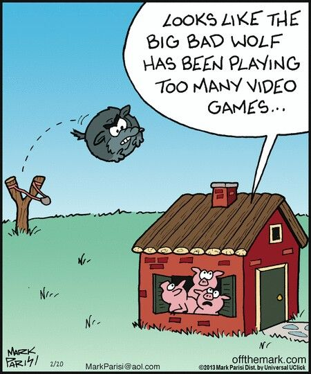 Pin By Annette Weck On Off The Mark Funny Cartoons Funny Memes Puns Jokes