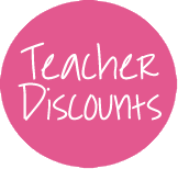 For my teacher friends :) A whole bunch of stores with teacher discounts- some I didn't know about.