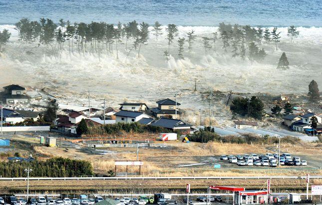 Cuidado con el agua y sus efectos devastadores. Tsunami de Japón