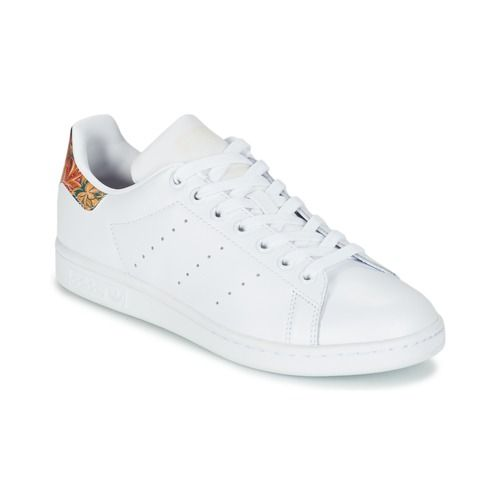 6e69d18057f Adidas Originals STAN SMITH W Blanc pas cher prix Baskets Femme Spartoo  93.99 €