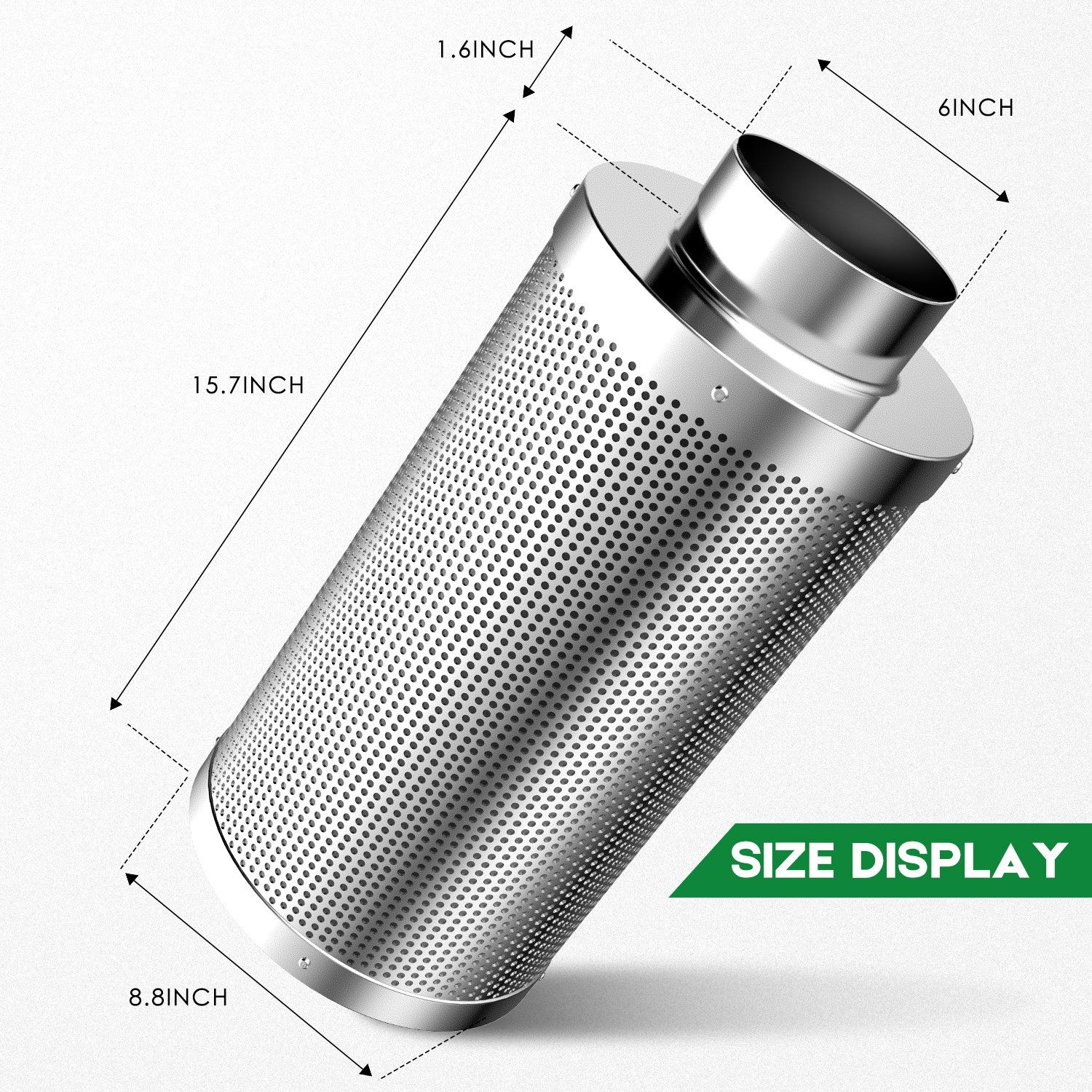 Amagabeli Garden And Home Growing02 6 Inch Odor Control 6inch Carbon Filter Check Out The Image By Visiting The Link With Images Home Air Purifier Carbon Filter Carbon