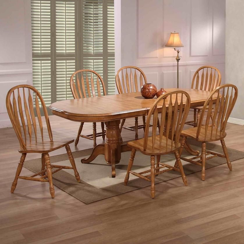 Flowy Solid Oak Dining Table With 6 Chairs D86 On Creative Home Cool Oak Dining Room Table And 6 Chairs Inspiration