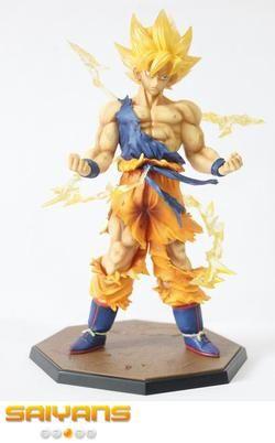 Dragon Ball Z Goku Ssj1 Figure Goku Super Saiyan Dragon Ball Z Dragon Ball