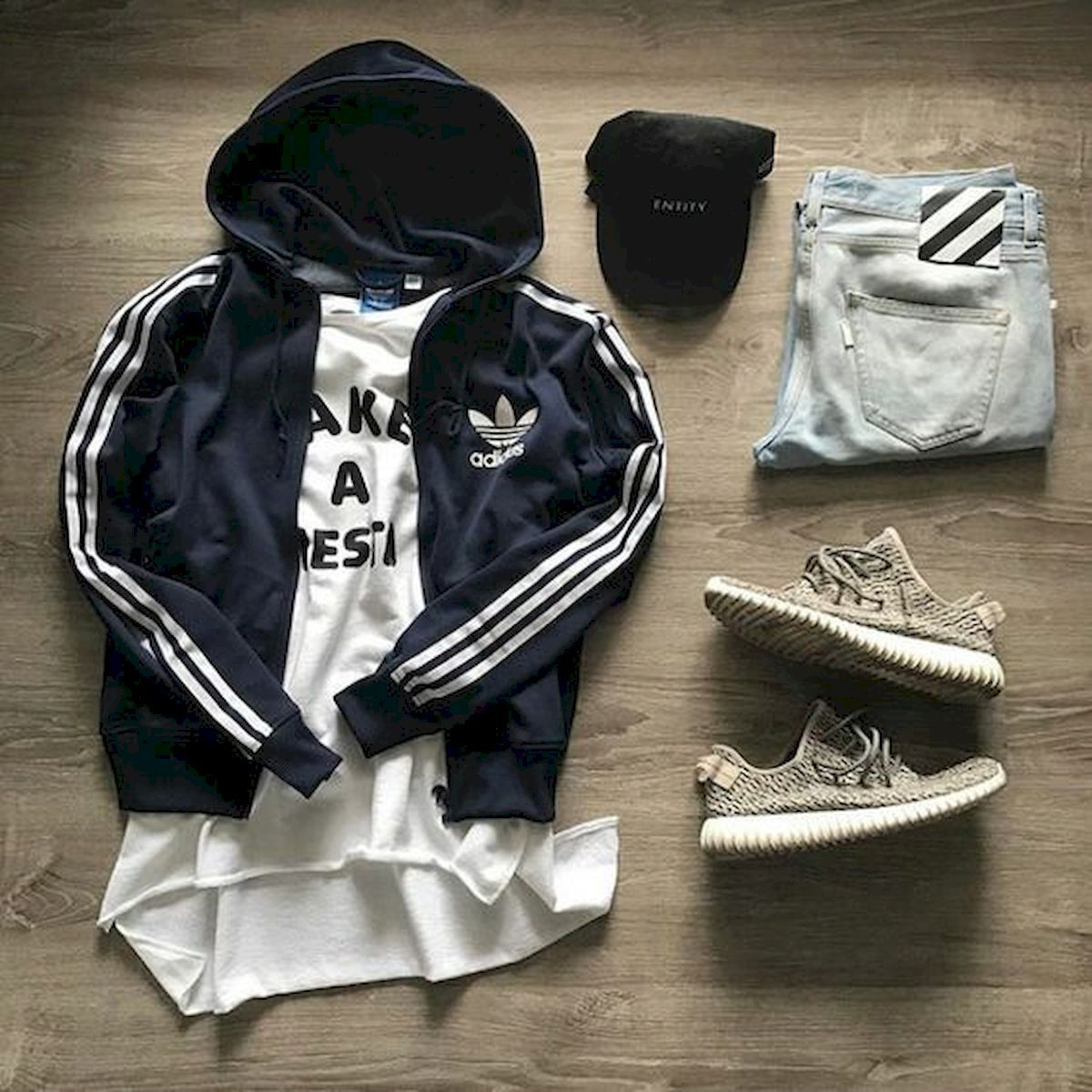 50 Awesome Streetwear Outfits Grids Ideas for Men #outfitgrid