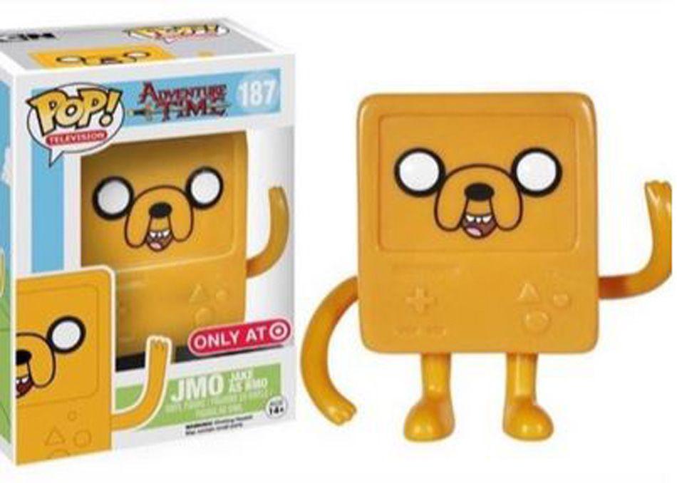 Jmo Vinyl Figure Jake As Bmo Pop Television 187 Adventure Time Funko Pop Toys Funko Pop Pop Vinyl Figures