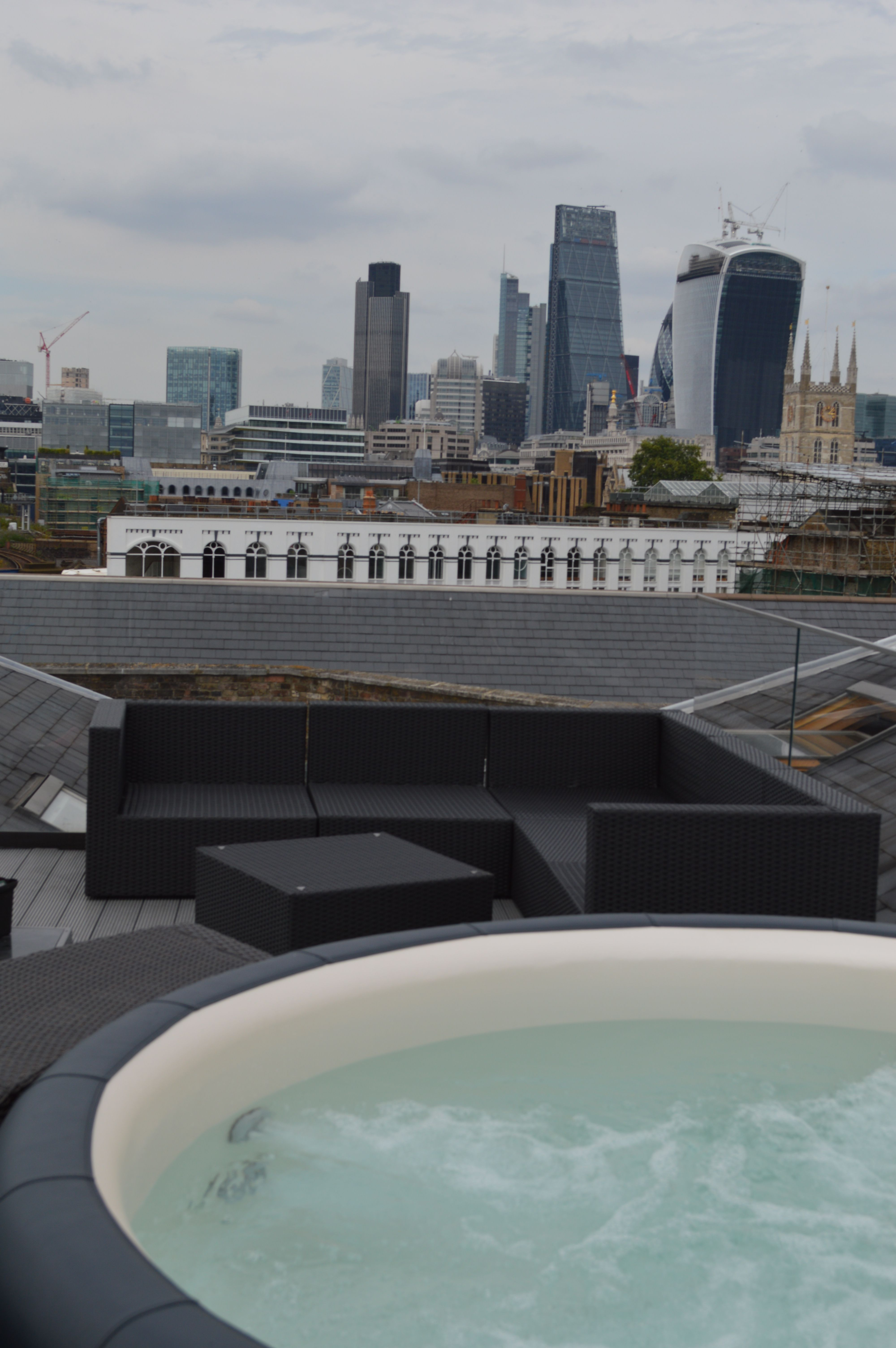 a88552c6f8 Hot tub oasis in London city centre