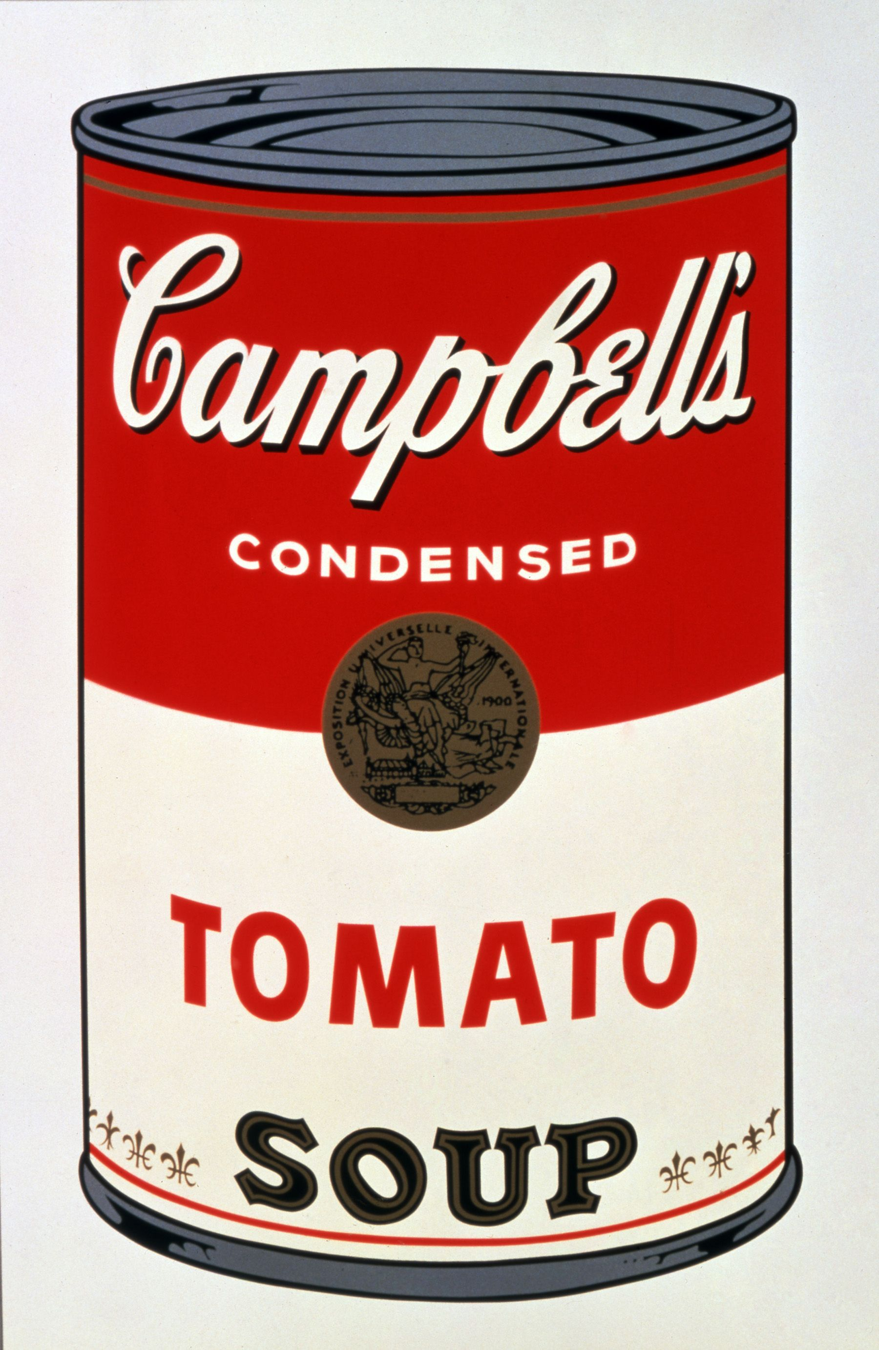 campbells tomato soup andy warhol 10 andy warhol campbells soup i tomato 1968 1800. Black Bedroom Furniture Sets. Home Design Ideas