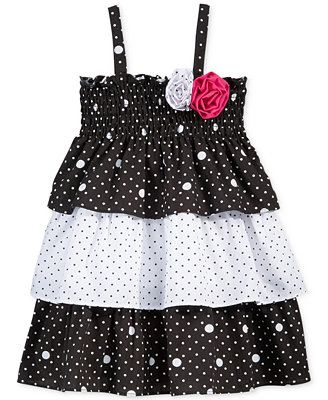 Penelope Mack Baby Girls' Tiered Dress
