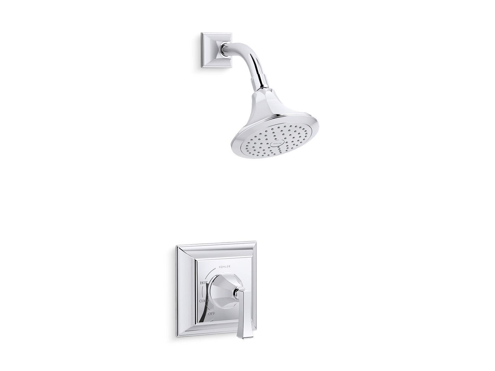 K-TS462-4V   Memoirs® Stately Rite-Temp® shower valve trim with Deco ...