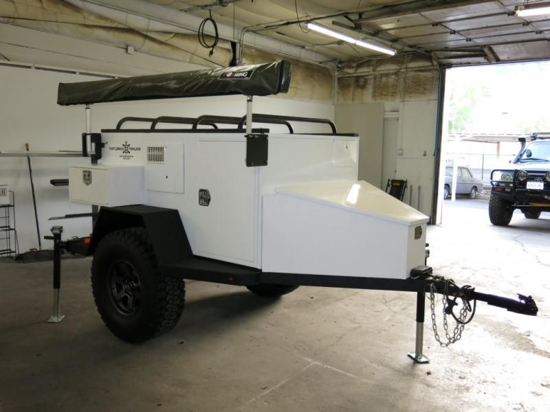 Roof Rack Or Tongue Rack On Off Road Teardrop Expedition Trailer