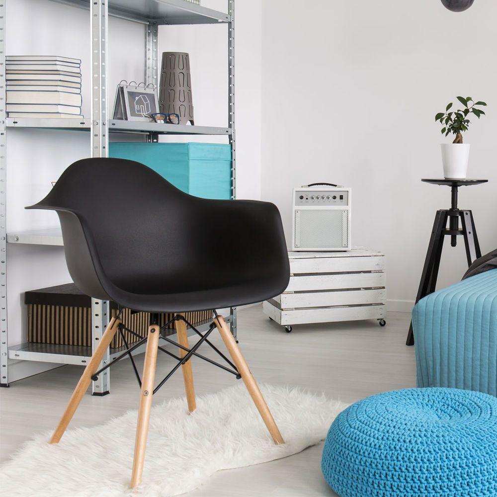 Este modelo de Silla eames armchair es un diseño hermoso y