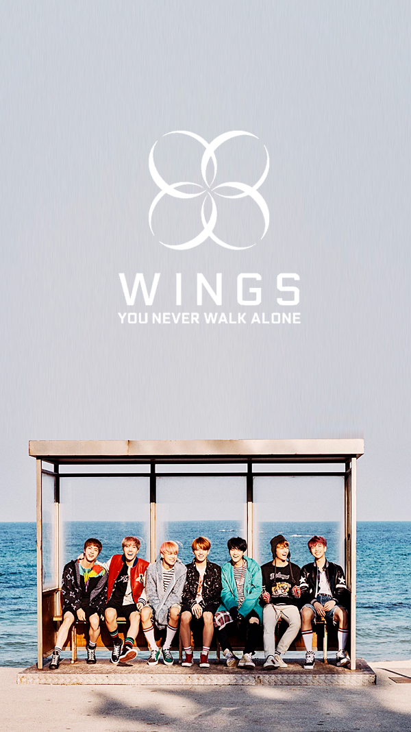 BTS || BTS Wallpapers || You Never Walk Alone