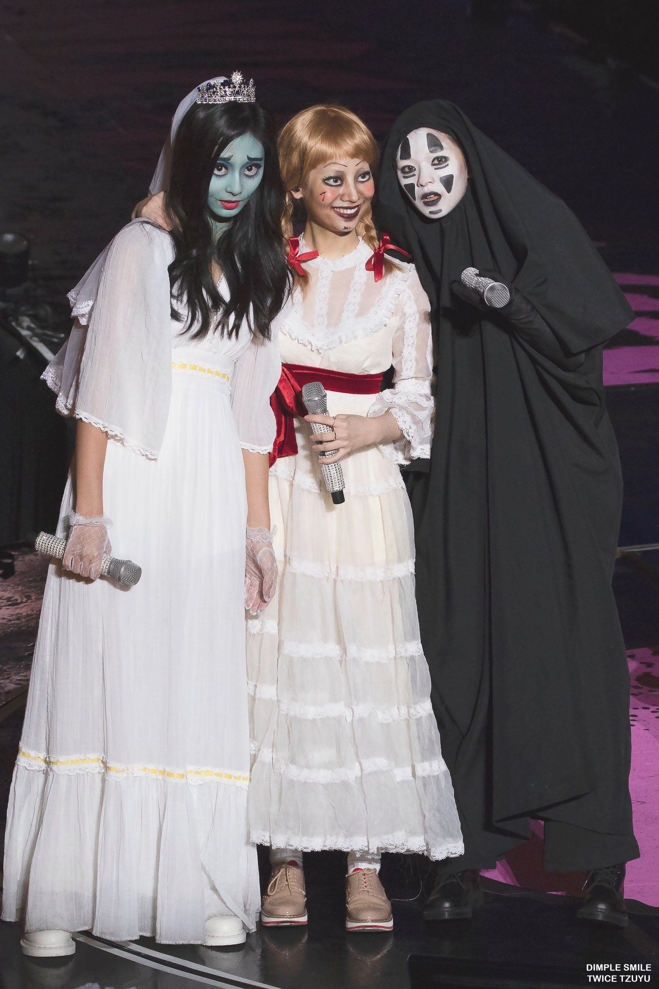 Twice Tzuyu Dahyun And Jeongyeon Kpop Halloween Costume Kpop Girls Kpop Costume