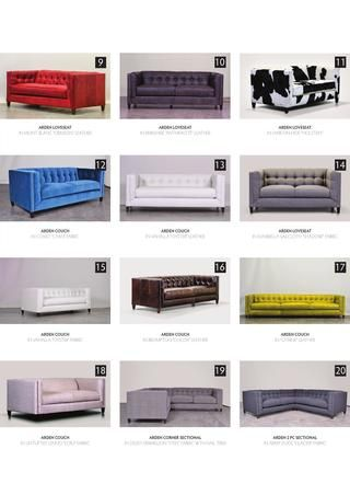 Arden sofas Comfortable Couch Company