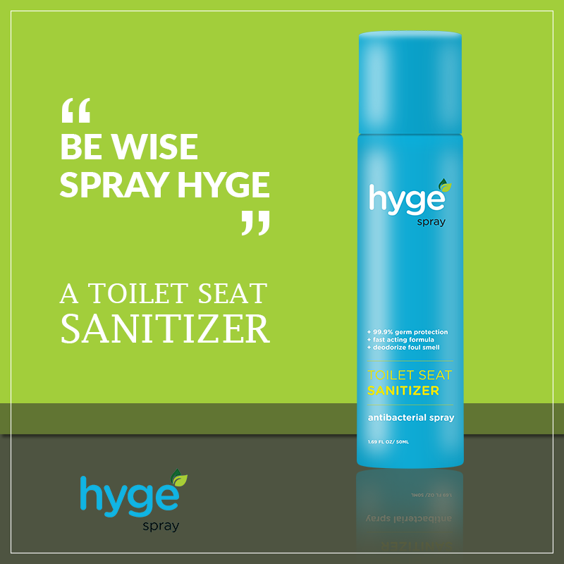 Groovy Hyge Spray A Toiler Seat Sanitizer With Anti Bacterial Inzonedesignstudio Interior Chair Design Inzonedesignstudiocom