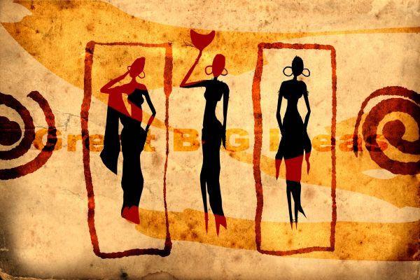 african art canvas prints | 6 Africa | Pinterest | African art ...