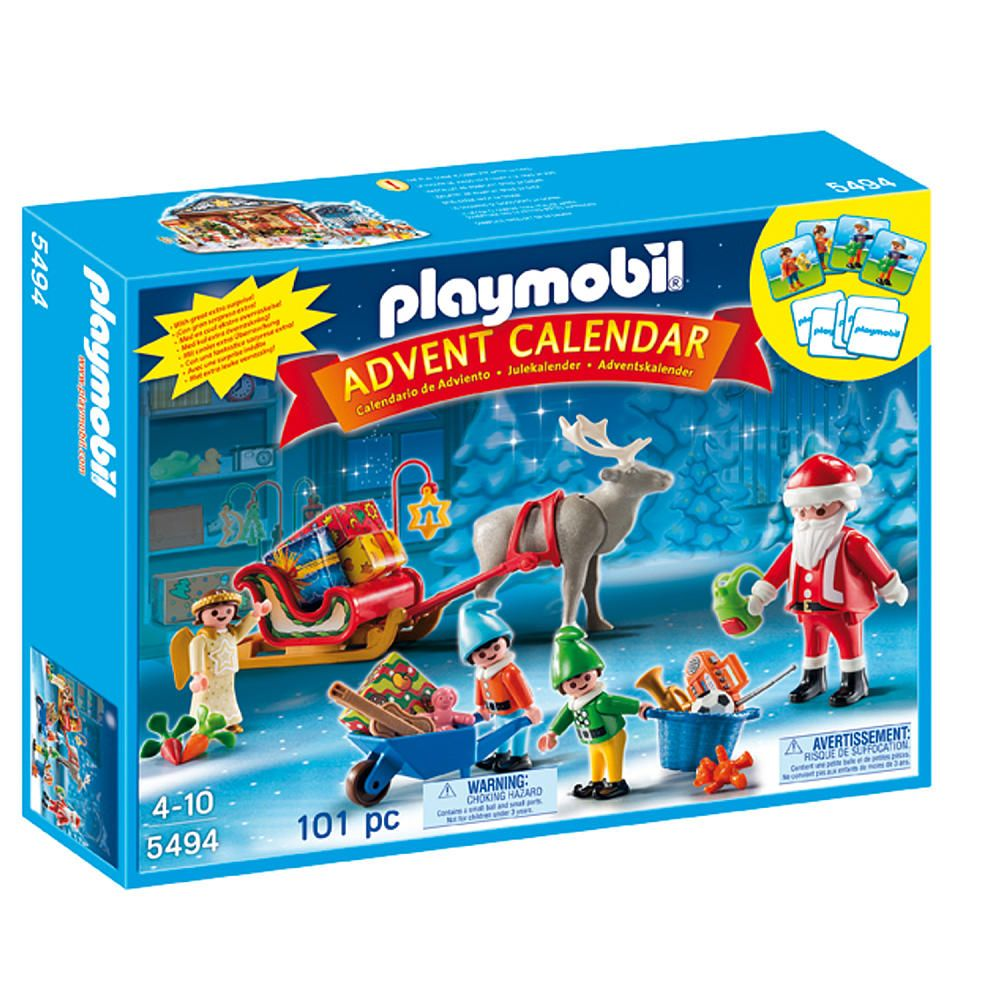 Toys R Us Weihnachtskalender.Z 30 Playmobil Advent Calendar Santa S Workshop Playmobil