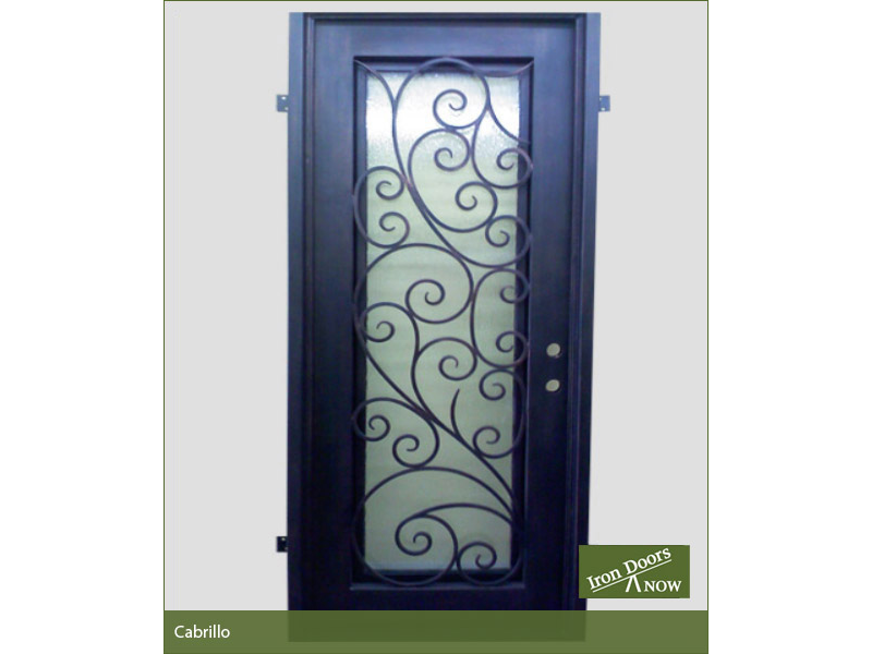 Single Front Doors iron single front doors | residential metal doors | wrought iron