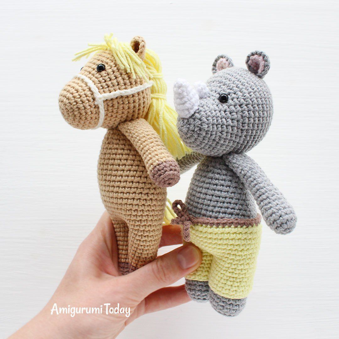 Cuddle Me Pony amigurumi pattern | Muñecas